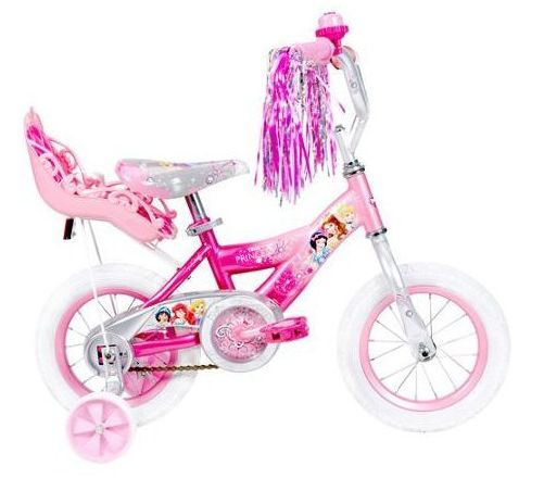 Check my review on Huffy Disney Princess Girls Bike, a 12 inch bicycle for girls that come in Disney Princess styling.