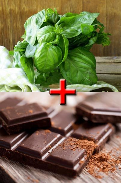 Who is up for some basil and chocolate? Anyone keen for a basil chocolate bar?