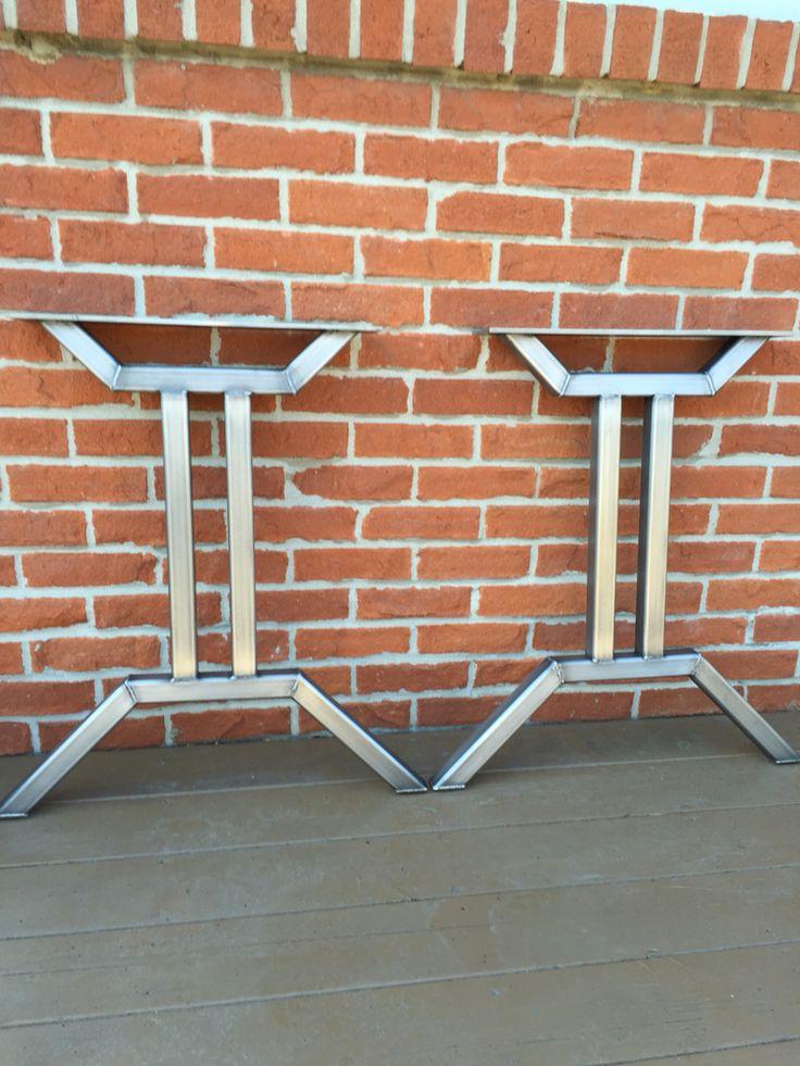 Best 25+ Metal desk legs ideas on Pinterest | Diy table ...