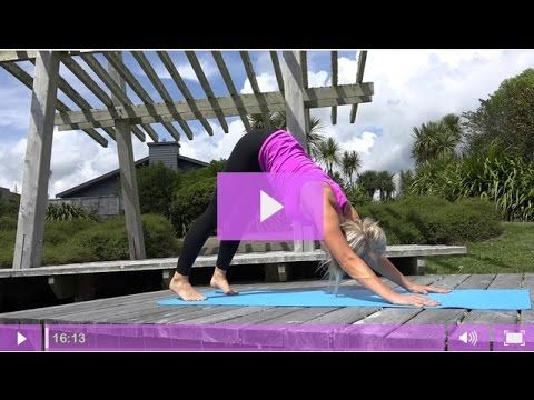 Beginners Yoga For Dressage Riders -  16 Minute Flexibility And Mobility Yoga Flow - YouTube