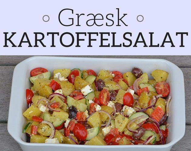 Fuldstændig forrygende kartoffelsalat med feta, peberfrugt og en rigtig god dressing.