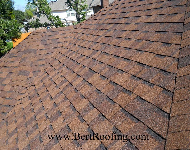 CertainTeed Landmark Composition Shingle, Color Burnt Sienna. Installed By  Bert Roofing Inc Of Dallas