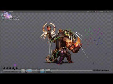 Zodiac Orcanon Odyssey, making of Dagmar on Spine. - YouTube