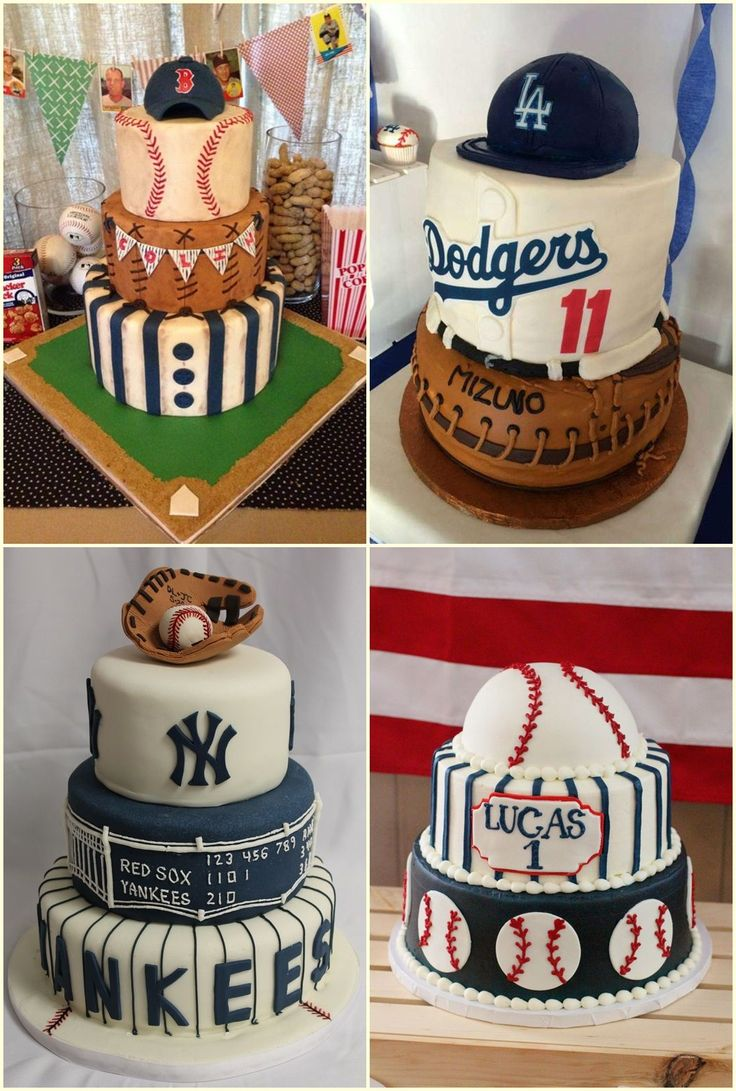Baseball Birthday Party Cake Ideas