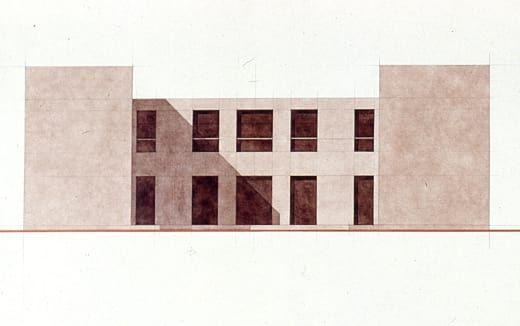 Giorgio Grassi · Casa per quattro fratelli a Miglianico
