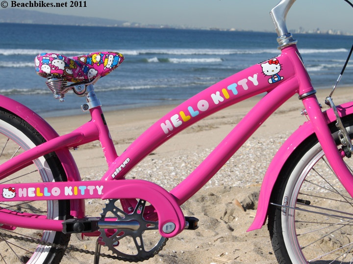 Nirve Hello Kitty Girl 20 Quot Beach Cruiser Bicycle Pink