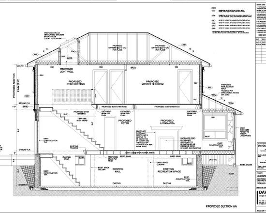 Inspiring House Design in Detailed Layout   Astonishing House Section Plan  Three Levels Floor Architectural Design   Pinterest   House design. Inspiring House Design in Detailed Layout   Astonishing House