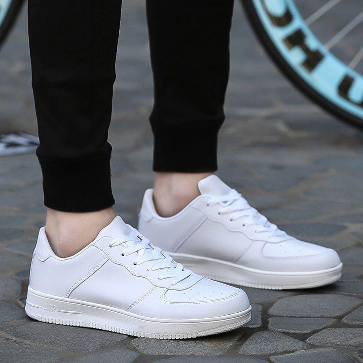 Zapatos blancos de otoño para mujer AnDRc