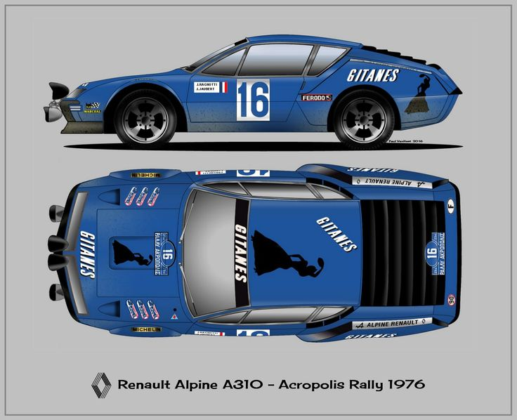 Renault Alpine A310                                                                                                                                                                                 More