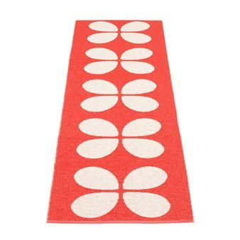 Aki rug red - 70 x 140 cm - Pappelina