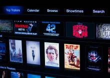 Use your Apple TV to view movie showtimes in nearby theaters