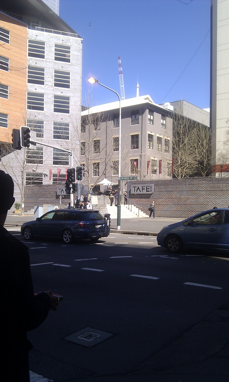 Ultimo tafe another exit