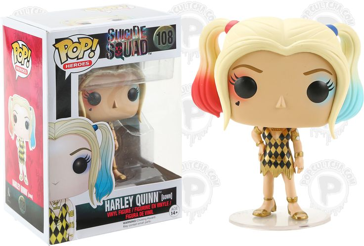 Харли Квинн в вечернем платье Funko POP (Harley Quinn Gown) — Эксклюзив — Магазин Фанко Фанатик