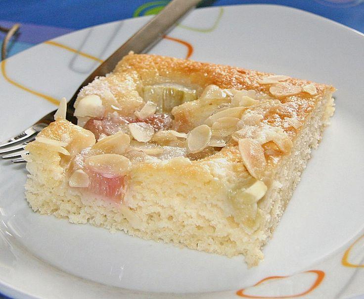 Rhabarber - Buttermilchkuchen 5