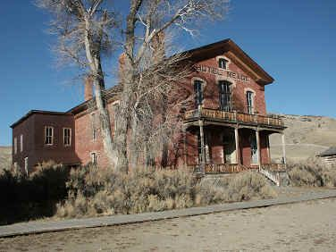 Ghost town - Bannock, MT - Dr. Meade purchased this brick building in 1890 for $1250.00