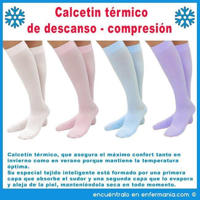 ¿Ahora se te quedan los pies frios?. ¿Notas las piernas cansadas tras las largas jornadas de trabajo? ¿Se te hinchan los tobillos cuando haces noches?. Te aseguramos que notarás la diferencia con nuestros calcetines, por sus cualidades térmicas y de descanso-compresión.Ya no llegarás al final de la jornada con esa sensación de pesadez en los pies y las piernas. #CalcetinTermico, #CalcetinCompresion, #CalcetinDescanso, #CalcetinDescansoColores, #RegaloEnfermera, #RegaloEnfermero…