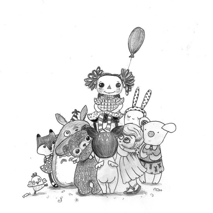 "illustration by Shira Baruch Malka/ for a poem by Yael Ben Baruch. ""Ha-pinkas' magazin, october 2014"