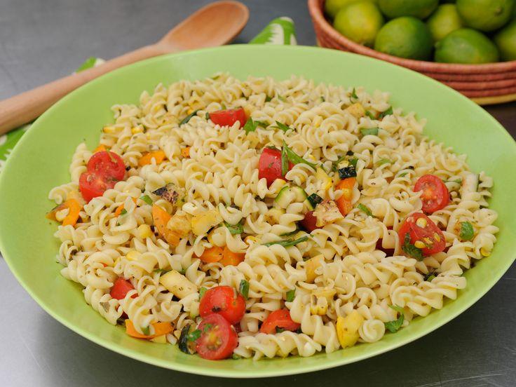 Veggie Pasta Salad | Recipe | Potlucks, Grilled veggies and Katie ...