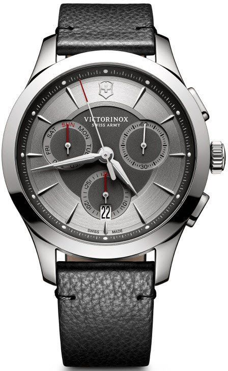 @vxswissarmy Watch Alliance #add-content #bezel-fixed #bracelet-strap-leather #brand-victorinox-swiss-army #case-material-steel #case-width-44mm #chronograph-yes #classic #date-yes #day-yes #delivery-timescale-1-2-weeks #dial-colour-grey #gender-mens #movement-quartz-battery #new-product-yes #official-stockist-for-victorinox-swiss-army-watches #packaging-victorinox-swiss-army-watch-packaging #style-dress #subcat-alliance #supplier-model-no-241748 #warranty-victorinox-swiss-army-offi...