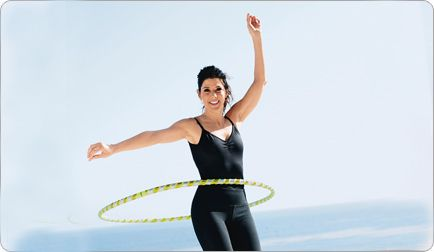 Hula Hooping: Hula Hooping, Fitness Workouts, Celeb Workout, Hooping Hula Hoop, Weighted Hula Hoops, Marisa Tomei, Hooping Workout
