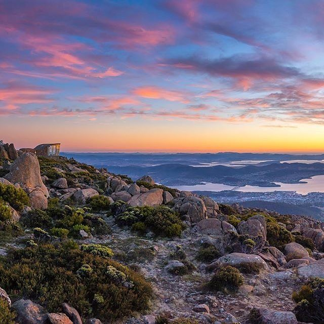 Cooo-eee! When visiting @tasmania's capital of @hobartandbeyond, admiring the city from the top of #MtWellington is a must-do experience - be sure to wear your winter woollies though as it can get rather chilly at this time of year (it is the top of a mountain, after all!) And if you're lacking in the mountaineering skills department, this is the mountain for you; there's a road the whole way to the summit so all you need to do is step out of the car - just double check the road is open if…