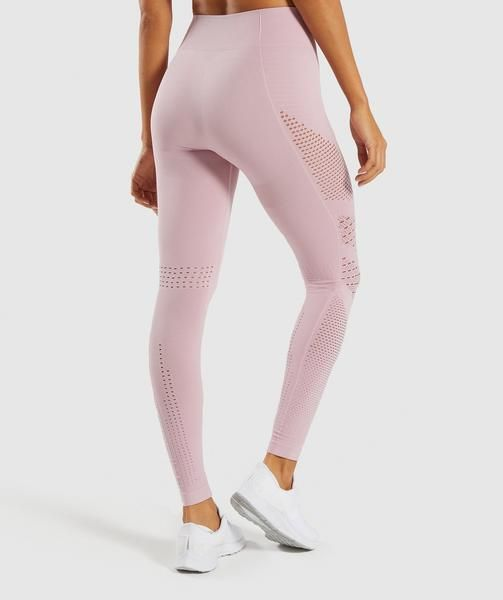 1a8b12ba504f0 Gymshark Flawless Knit Tights - Washed Lavender in 2019 | winter'19 style |  Pinterest | Tights, Workout gear and Fashion