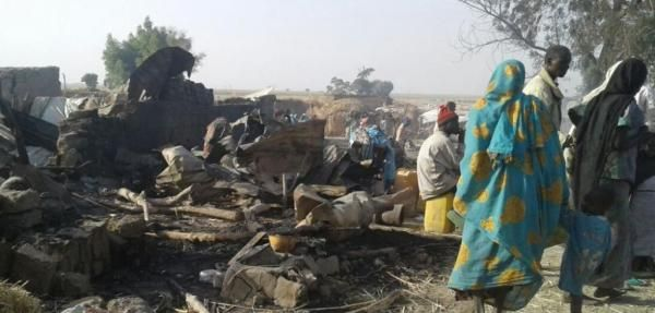 Ed Adamczyk Jan. 20 (UPI) -- Nigerian soldiers repelled a Boko Haram attack on a refugee camp, just days after the camp was accidentally…