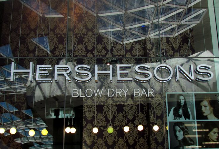 Hershesons Blow Dry Bar ~ Wellbeing ~ UJ London Top 10 Guide