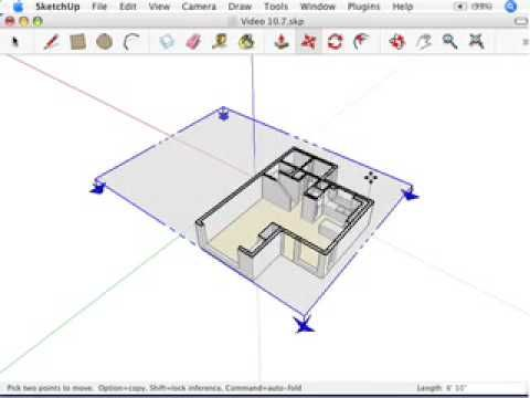 How-to use Google SketchUp For Dummies (YouTube)