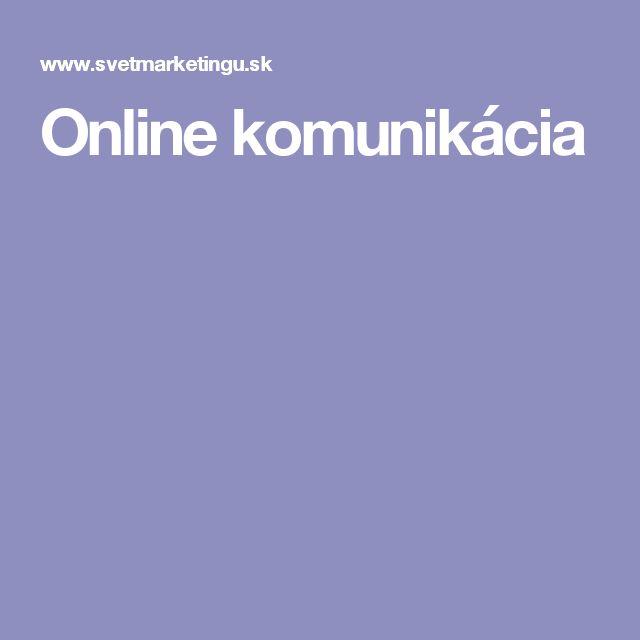 Online komunikácia
