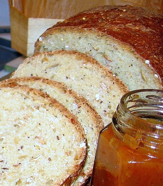 Eastern Europeans love hearty, multigrain breads and this recipe is very easy to make.