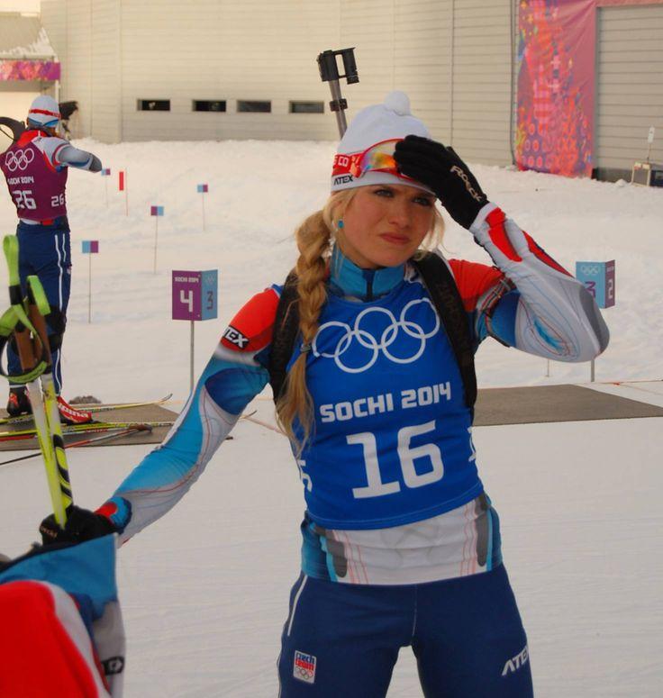 Gabriela Soukalová - tschechische Biathletin ☼
