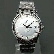 OMEGA Seamaster Deville Date Steel Caliber 4564 Quartz Unisex Watch Excellent