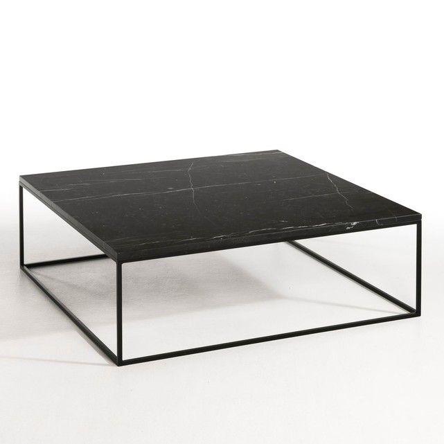 La table basse Mahaut. Élégance et simplicité avec la combinaison d'un plateau en