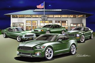 MUSTANG BULLITT - FEATURING YEARS 1968-2001-2008-2015 WE ARE FAMILY! See More At: http://dannywhitfield.com/