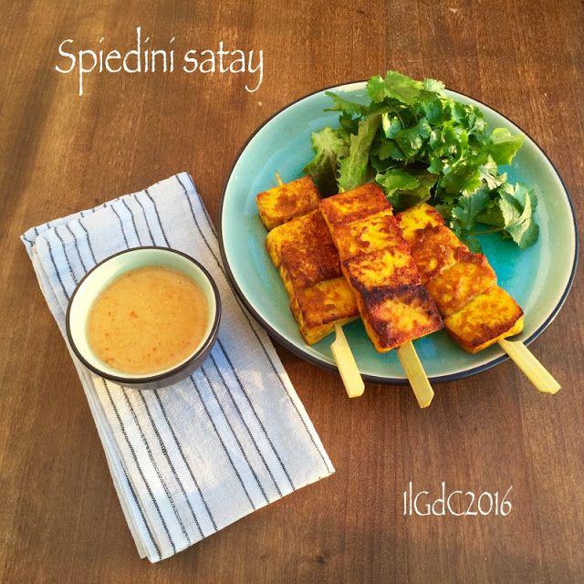 il giardino dei ciliegi: Cucina thailandese: spiedini satay con salsa alle arachidi (versione veg)