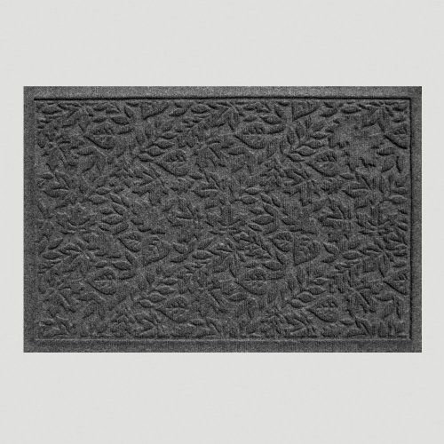 Fall Leaves WaterGuard Doormat, Charcoal - World Market by Cost Plus World Market. $39.99. The beauty of autumn right at your doorstep. Our Fall Leaves WaterGuard Doormat displays a delightful pattern of fallen tree leaves in Charcoal. Sturdy polypropylene is used here to provide traction in wet or snowy conditions and works to catch mud before it gets tracked inside. Rubber grips on the underside function to keep the doormat in place for convenient wiping of feet. Available ...