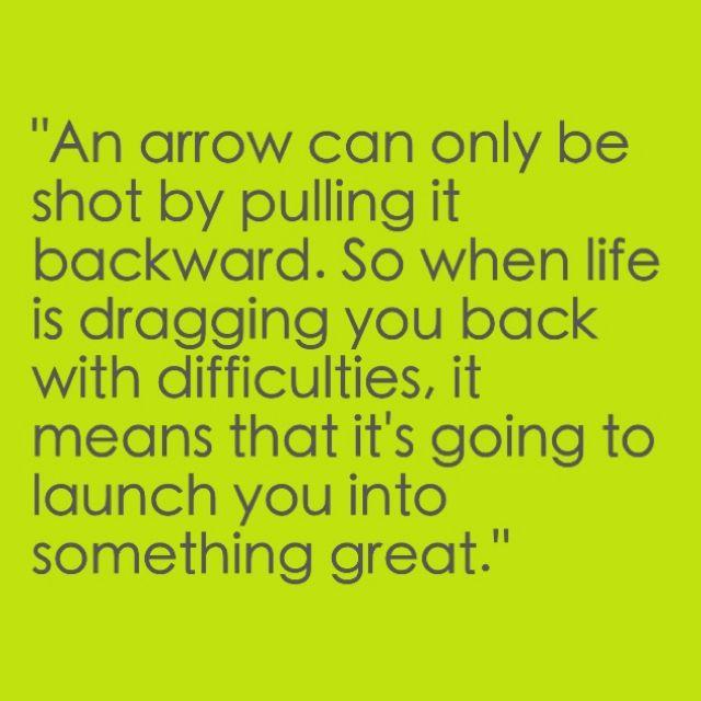 Being an arrow