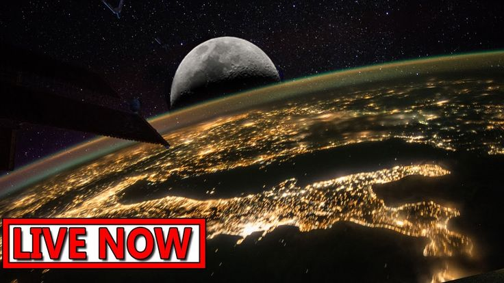 NASA live stream - Earth From Space LIVE Feed | Incredible ISS live stre...