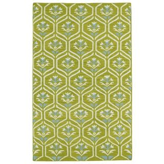 Shop for Hollywood Wasabi Flatweave Rug (9' x 12'). Get free shipping at Overstock.com - Your Online Home Decor Outlet Store! Get 5% in rewards with Club O!