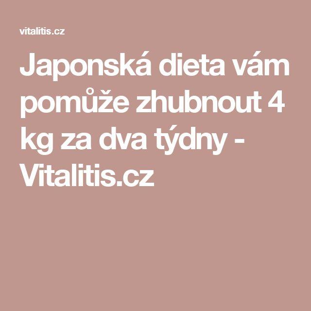 Japonská dieta vám pomůže zhubnout 4 kg za dva týdny - Vitalitis.cz