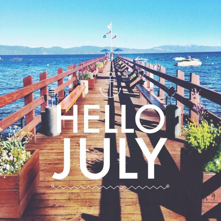 Hello July Images Free Download For Pinterest U0026 We Heart It