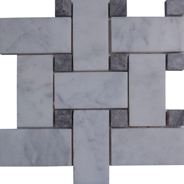 Large Basketweave D Carrara Tile Tem Imcmp6bgld Material Type Marble Similar Product Name S Turkish Carrara White Mosaic Tiles Basket Weave Tile Tiles