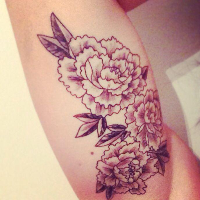 Peony Flower Tattoo: Flower Tattoos