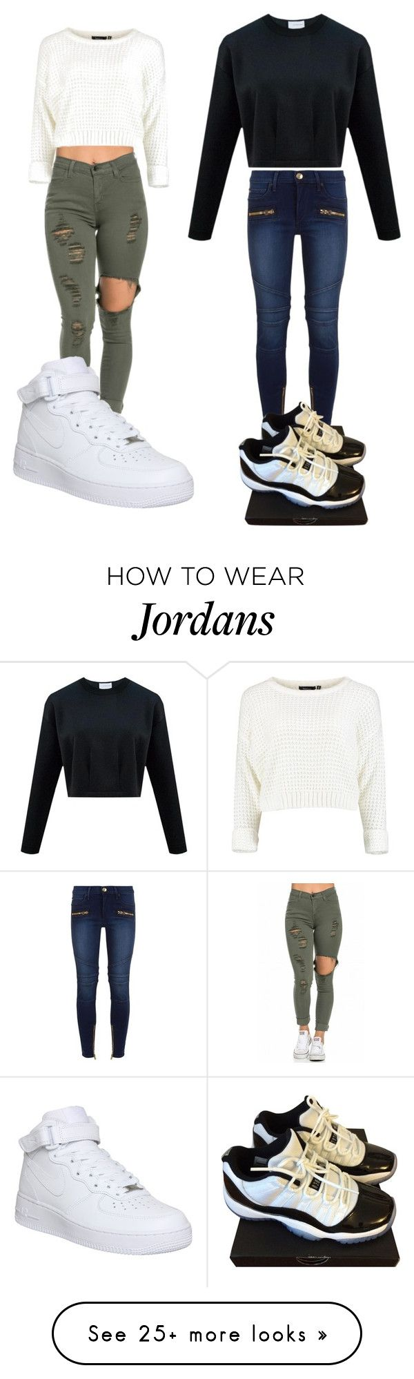 """"""""""" by michell-chaverria-01 on Polyvore featuring True Religion, NIKE, women's clothing, women, female, woman, misses and juniors"""