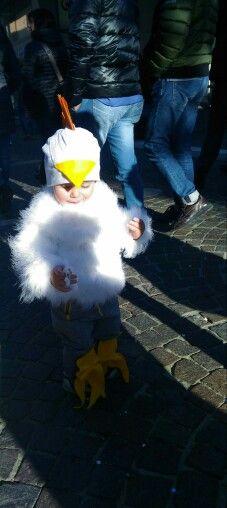 Chicken Dress Small 👦 Carnival