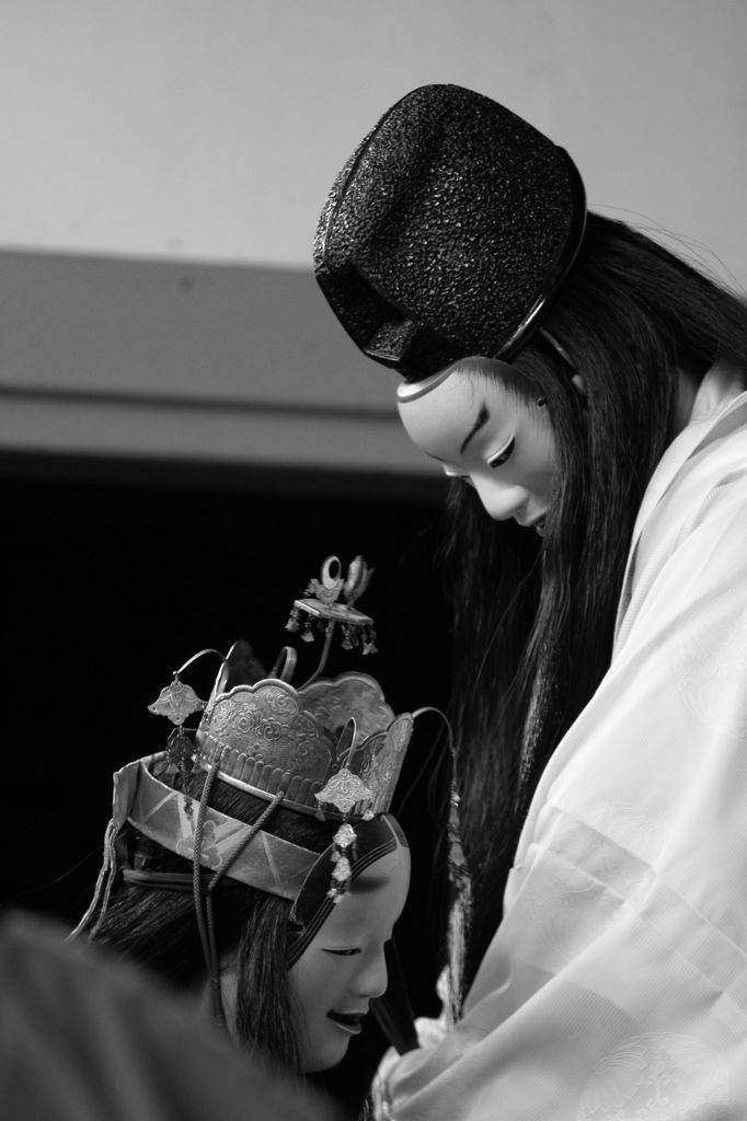 Japanese traditional Noh theater