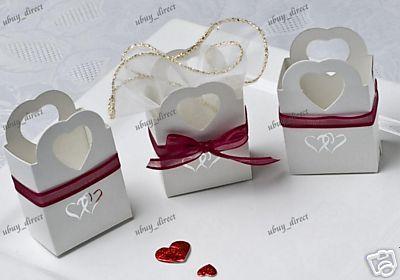 Stunning wedding themed boxes