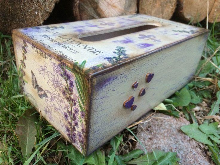 #FidArt #handmade #tissuebox #patina #vintage