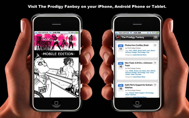 The Prodigy Fanboy on your mobile device.